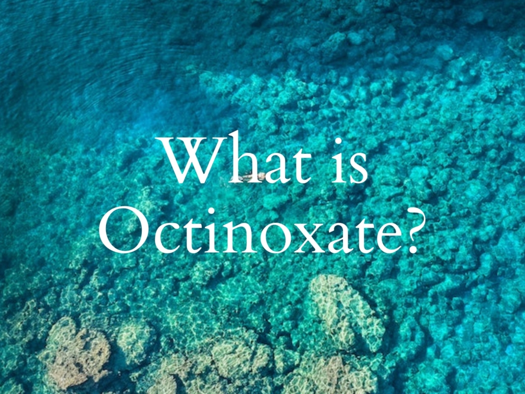 What is octinoxate
