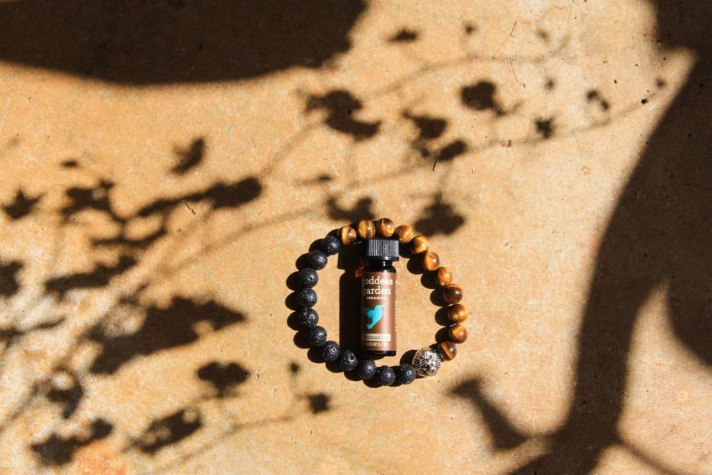 Strength aromatherapy bracelet